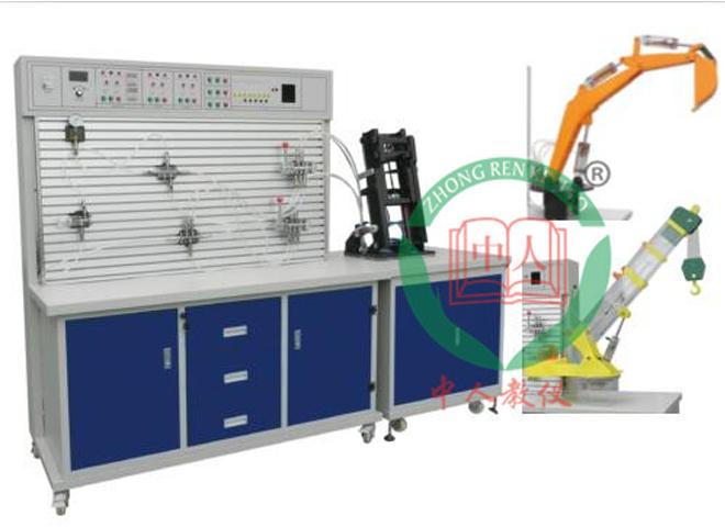 (挖掘机+起重机+叉车)工程机械液压综合实验台