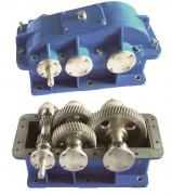二级分流式圆柱齿轮减速器拆装模型