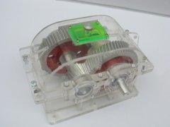 透明减速器教学模型
