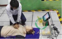 单人徒手心肺复苏操作实操模拟系统