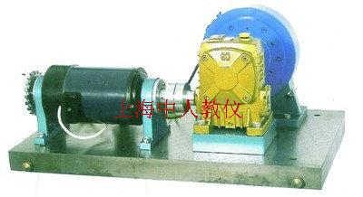 齿轮与蜗杆传动测试实验装置