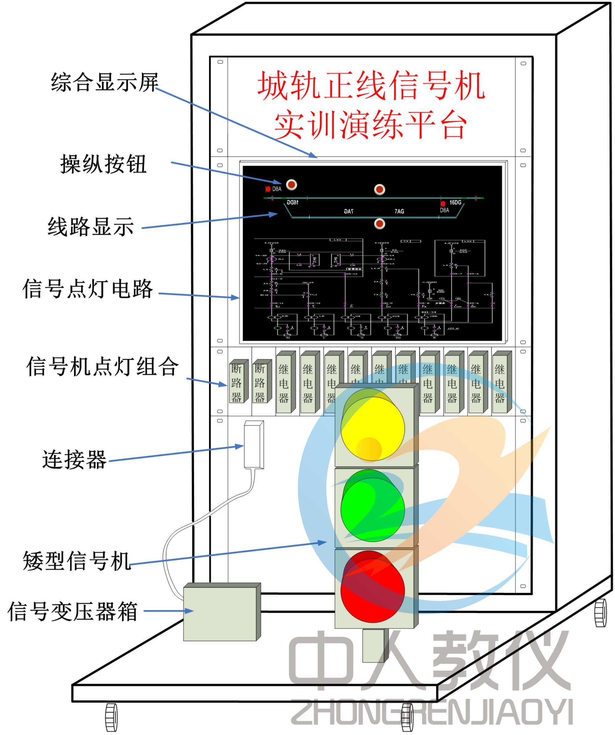 正线信号机设备实训演练平台