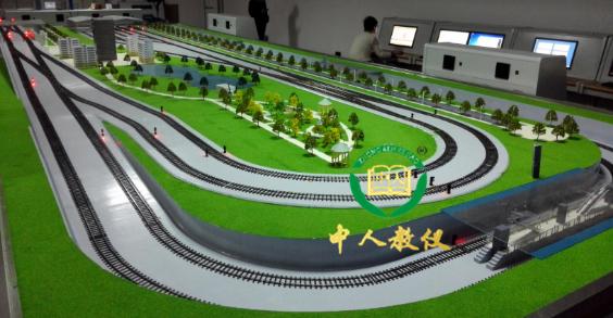 城市轨道交通信号控制及运营管理仿真实训系统