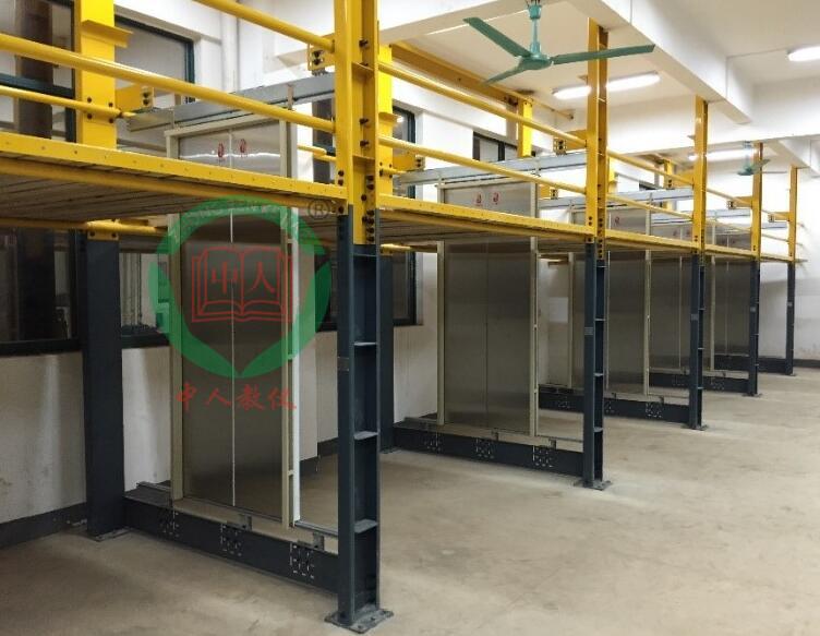 万能电梯门系统安装实训考核装置,门机构调试教学设备