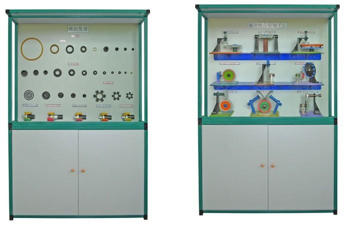 ZRCLG-20《机械零件》示教陈列柜