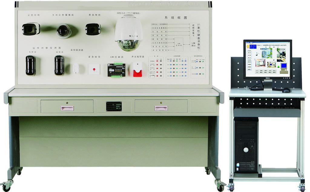 ZR-16A安全防盗及监控系统实训装置