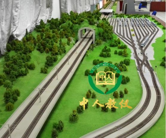 城市轨道交通信号控制及运营管理仿真实训系统台体
