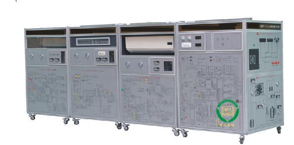 户式中央空调实训考核系统,中央空调教学设备,空调实训