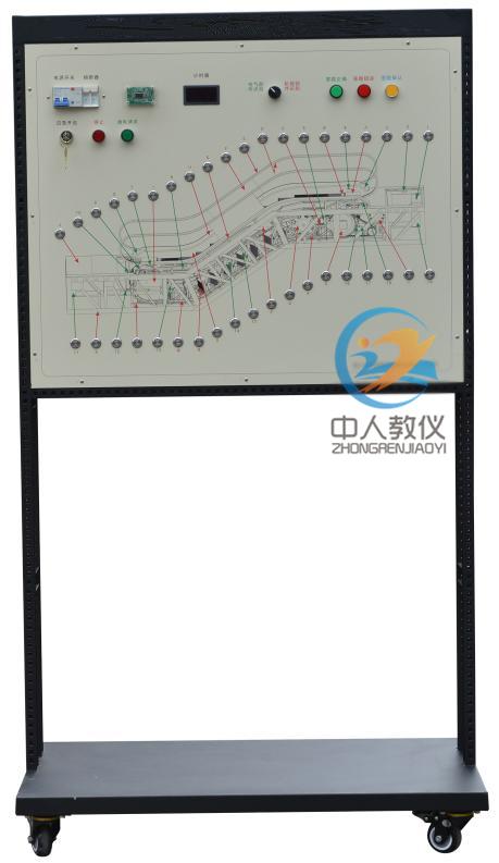 自動扶梯部件及設備的識別裝置